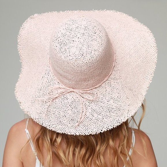 Marcus Adler Accessories - Pink Straw Hat